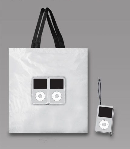 Ipod - foldable shopping bag